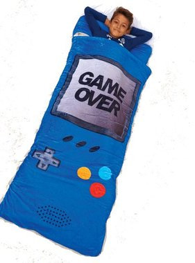 Iscream 782-067 Game Over Sleeping Bag 32x64