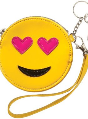 Iscream 810-508 Heart Eyes Purse Key Chain