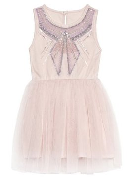 Tutu du Monde TDM3357CL Little Miss Violette Tutu Dress, Lychee