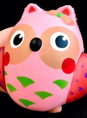 "BC USA 83233 Pink Owl Squishy-5.5""-6"