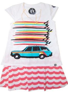 Mini Shatsu Surfboard Tower Station Wagon Dress