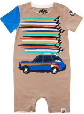 Mini Shatsu Surfboard Tower Station Wagon Romper