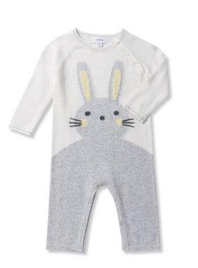Angel Dear Bunny Coverall Grey 196S8BG