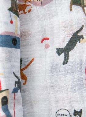 Little Unicorn Cotton Muslin Swaddle Single - Meow