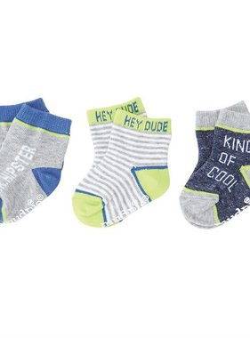 Mud Pie 1042019 Mr Hipster Sock Set