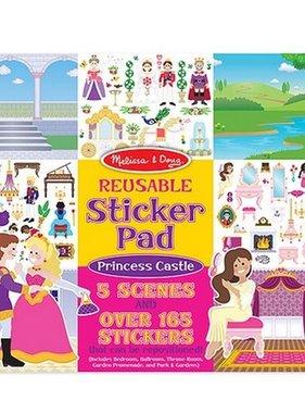 Melissa & Doug 4306 Princess Castle Reusable Sticker Pads NO