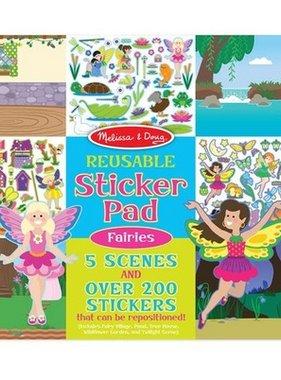 Melissa & Doug Reusable Sticker Pad- Fairies 8603 NO