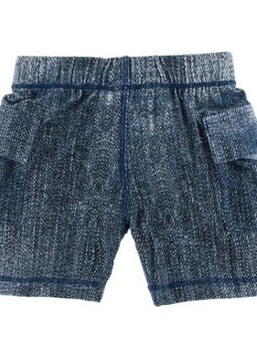 Kickee Pants Print Cargo Short-Denim