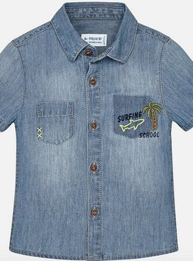 Mayoral 1158 05 Denim Shirt
