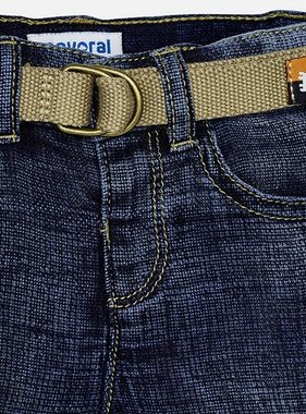 Mayoral 1278 05 Denim Bermuda w/ Belt