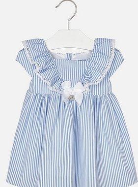 Mayoral 1948 42 Stripes Poplin Dress Lavendar