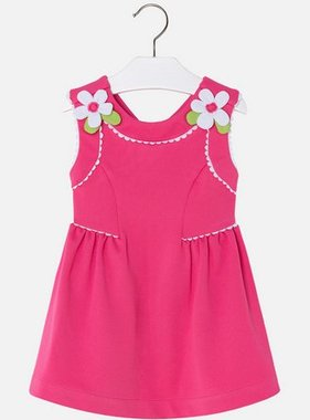Mayoral 3932 65 Pique Knit Dress, Fuchsia