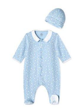 Petite Bateau 27599 Baby Boy Boat Print w Hat