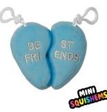 Iscream 860-328 BFF Heart Furry Vanilla Scent Mini Squishem