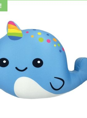 Iscream 780-910 Narwhal Strawberry Scented Pillow