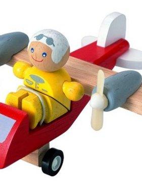 Plan Toys 6046 Turboprop Airplane W Pilot