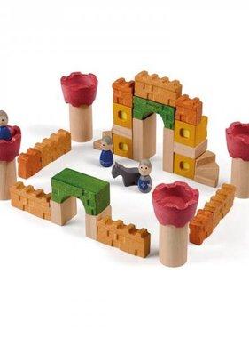 Plan Toys 5651 Castle Blocks