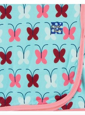 Kickee Pants Print Swaddling Blanket-Tallulah's Butterfly