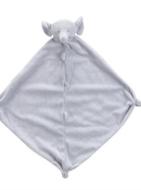 Angel Dear Elephant Blankie Grey 1143