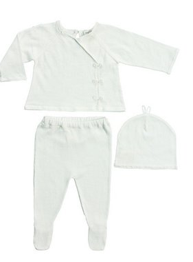 Angel Dear 1090I Girl Take Me Home 3Pc Set, Ivory  Newborn