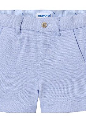 Mayoral 1274 14 Knit Shorts, Oxford