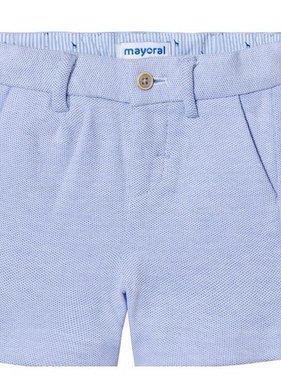 Mayoral 1274 14 Knit Shorts, Oxford