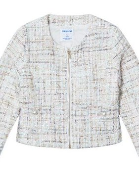 Mayoral 6408 72 Jacket Aqua
