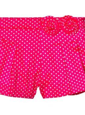 Mayoral 3204 029 Dots Poplin Shorts