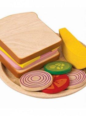 Plan Toys 3464 SANDWICH MEAL