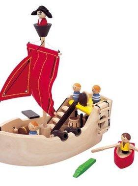 Plan Toys 6105 Pirate Ship