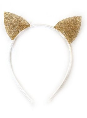 Lilies And Roses H48-79 HB Cat Ears Glitter Gold