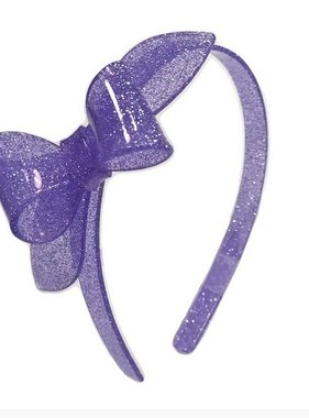 Lilies And Roses H8G-14 Headband Rosane Purple