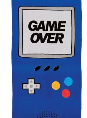 Iscream 880-045 Game Over Towel 29x64