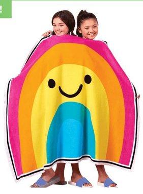 Iscream 880-044 Rainbow With A Smile Towel 60x44