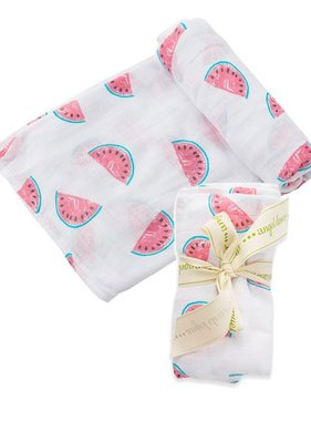 Angel Dear 157S7SWA Watermelon Swaddle Blanket