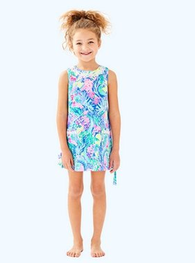 Lilly Pulitzer Kids 25968 Little Lilly Shift Mermaids