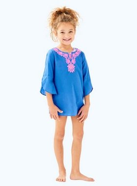 Lilly Pulitzer Kids 29168-420 Mini Piet Coverup Bennet Blue