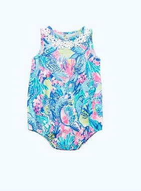 Lilly Pulitzer Kids 29389 May Bodysuit Mermaids