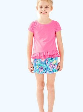 Lilly Pulitzer Kids 29377 Ceclie Short Mermaids