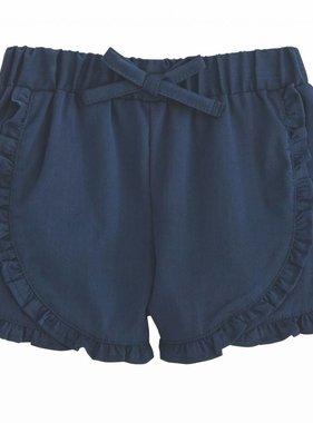 Mud Pie Navy Ruffle Shorts 1172159