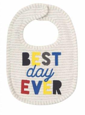 Mudpie Best Day Ever Bib 1552381