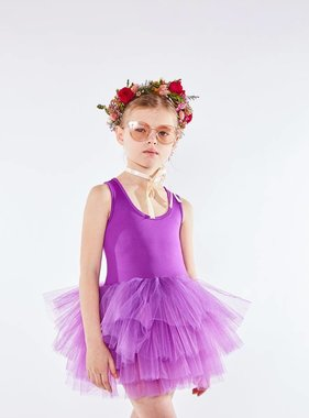 I Love Plum Aleia Tutu Leotard-Purple
