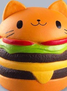 Jeannie's Enterprises Cute Cat Burgers Squishy