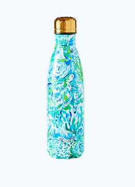 Swell Lilly Pulitzer Swell Bottle 17 oz. Race to the Wave