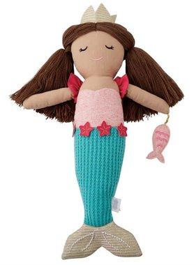 Mudpie Blue Tail Mermaid Doll