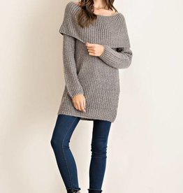 Cowl Neck O/S Sweater