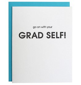 Go On with Your Grad Self Card