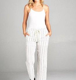 B/W Stripe Pants