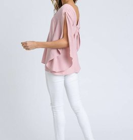Back Bow Blouse