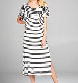 Stripe Basic Dress